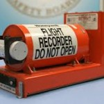 Photo of a black box or flight recorder